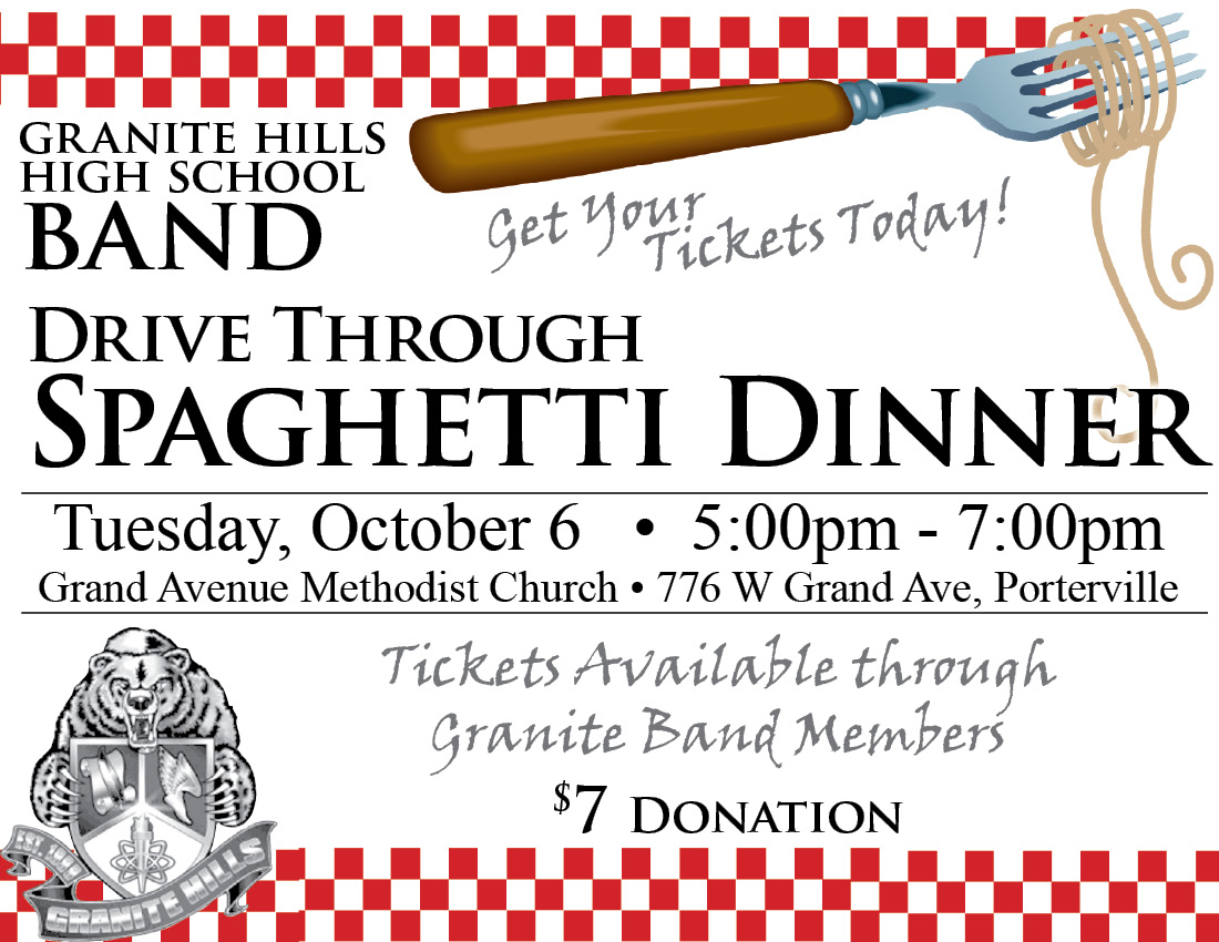 Spaghetti Dinner Ticket Template  Fundraiser Tickets Template